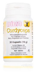 Déesse Nahrungsergänzung Cordyceps Kapseln