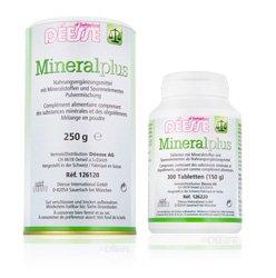 Déesse Nahrungsergänzung Mineral plus Pulver und Tabletten
