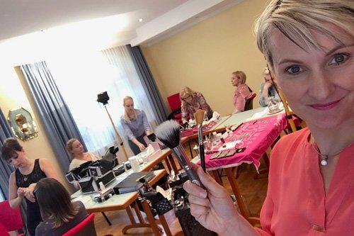 Regina Brüll Visagisten-Ausbildung