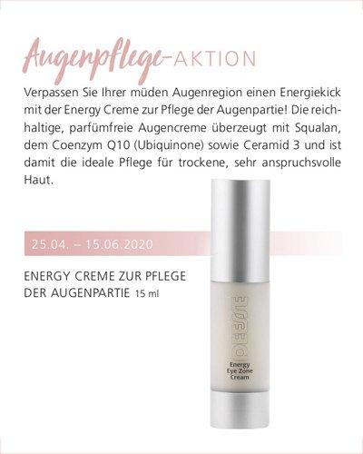 Regina Brüll Deesse Kosmetik Aktion Energy Augencreme