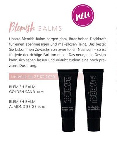 Regina Brüll Deesse Kosmetik Neu Blemish Balm