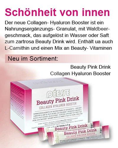 Regina Brüll Deesse Kosmetik Neuheit Beauty Pink Drink
